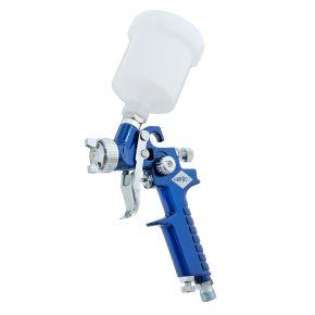 Mini Verfspuit HVLP 2 bar 0.8 mm nozzle 125 ml beker