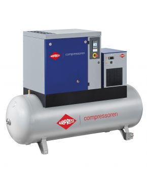Schroefcompressor APS 7.5 Basic Combi Dry 8 bar 7.5 pk 846 l/min 500 l