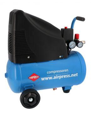 Compressor HLO 215-25 8 bar 1.5 pk 172 l/min 24 l