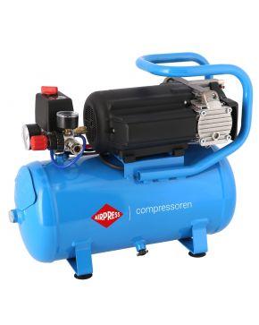 Stille Olievrije Compressor LMO 15-210 8 bar 0.75 pk 168 l/min 15 l
