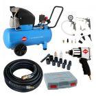 Compressor HL 360-50 10 bar 2.5 pk/1.8 kW 288 l/min 50 l Plug & Play