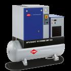 Screw Compressor APS 10 Basic G2 Combi Dry 10 bar 10 hp/7.5 kW 984 l/min 500 l