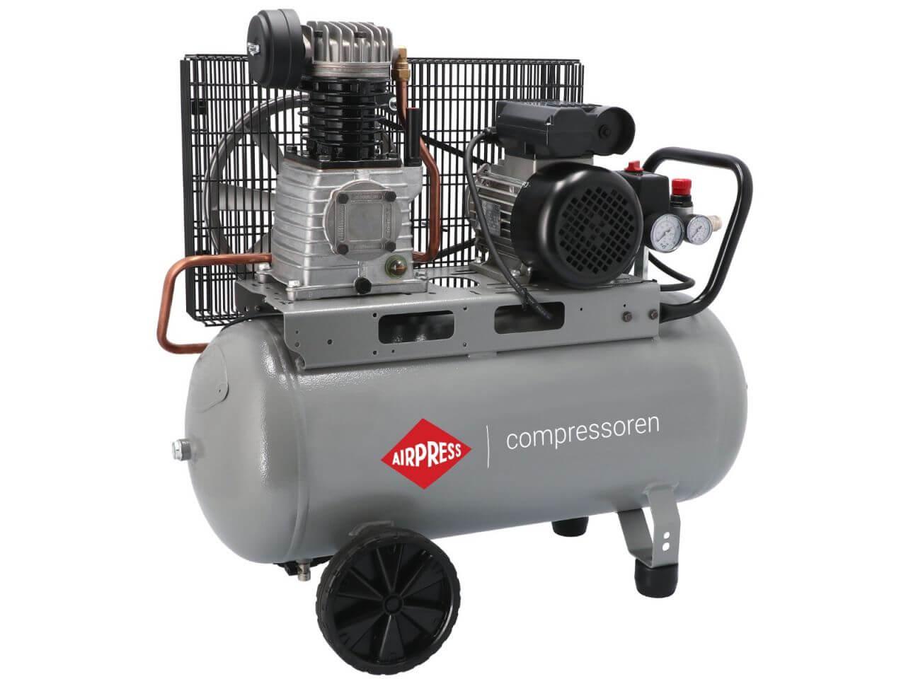 HL 310-50 Groene compressor met vliegwiel