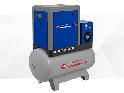 Airpress X Serie Schroefcompressor 10 Combi Dry