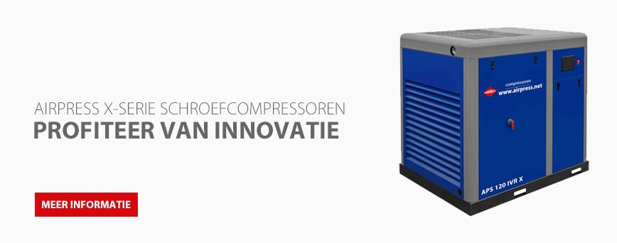 Schroefcompressor installatie van Airpress